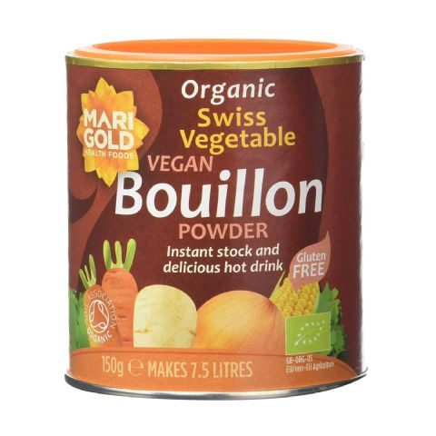 Organic Swiss Vegetable Vegan Bouillon Powder Marigold 150g